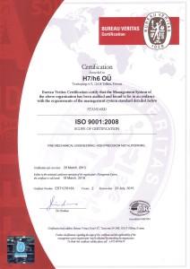 Sertifikaat 9001 ENG